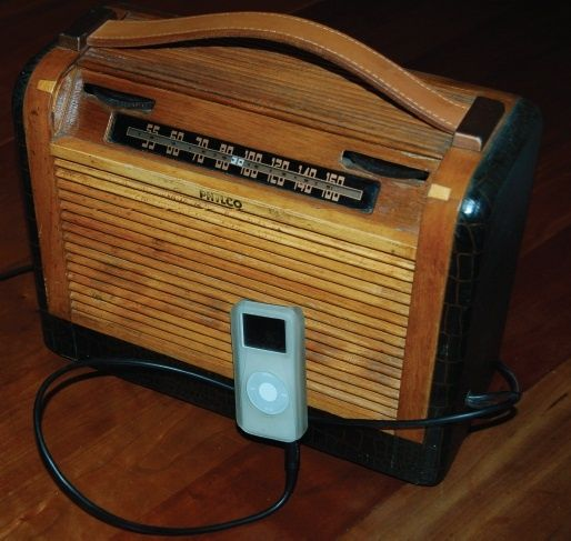 Repurposed Old Radios | How to turn a tube radio into an mp3
