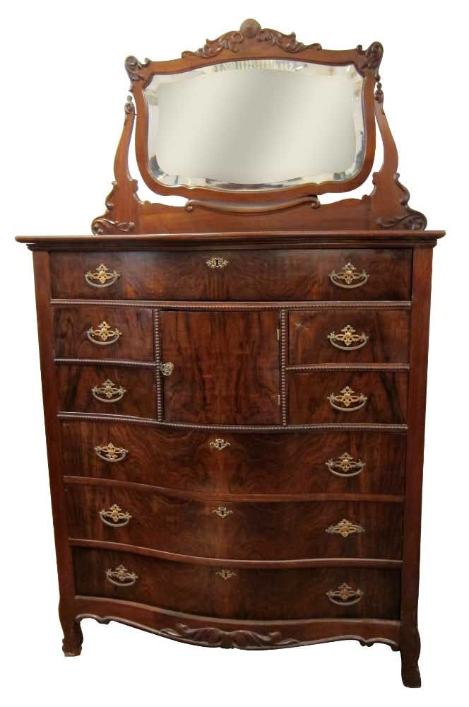 Best Antique Mahogany Dresser With Beveled Mirror This Is Very 400 x 300