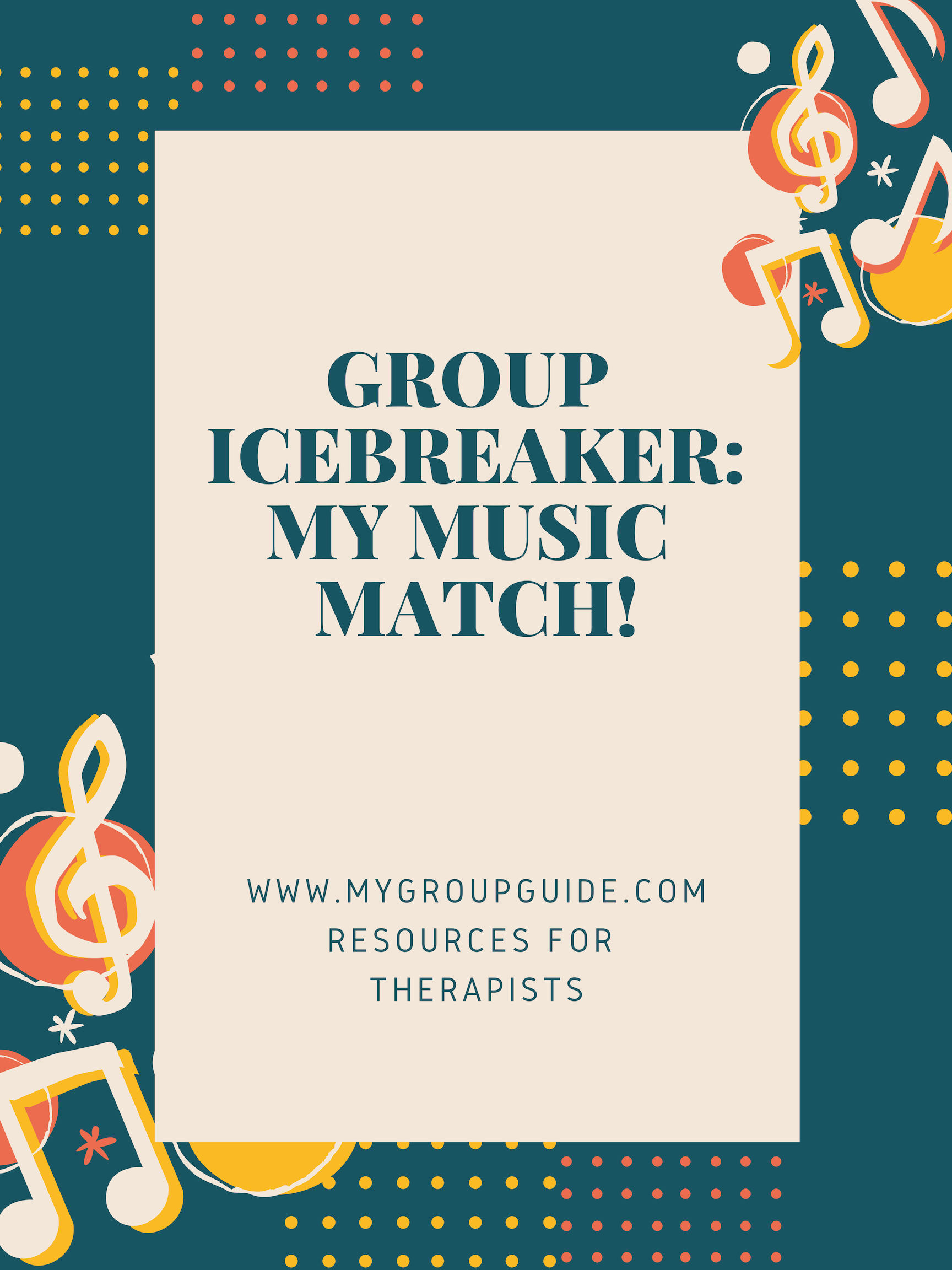 Free Therapy Icebreaker Activity