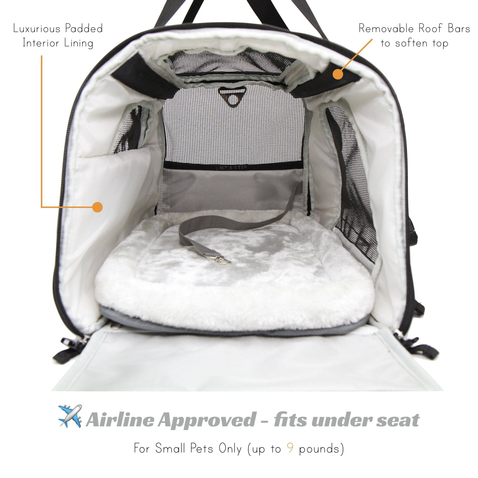Pet Carrier Bag Amazon Jet Sitter Super Fly Airline Approved Pet Carrier Bag Tsa