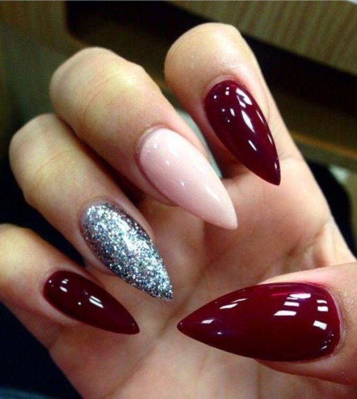 ▷ 1001+ ideas de uñas de gel - pros y contras de su uso   Uñas de ...