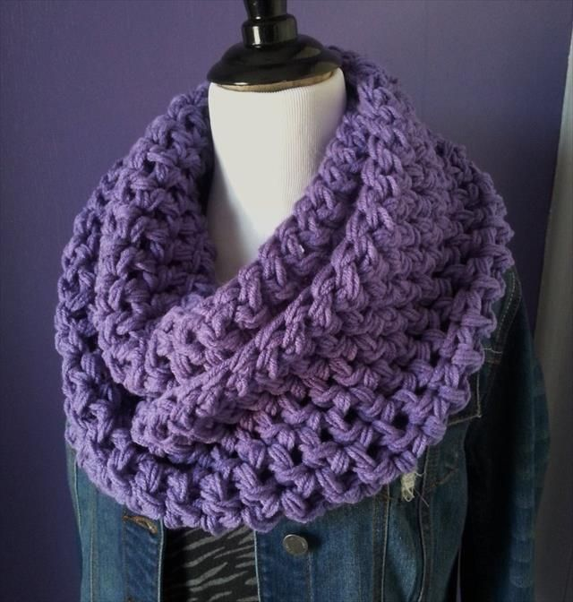 10 Crochet Infinity Scarf Patterns Crochet Infinity Scarf Pattern