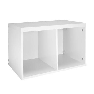 Elite White 2 Cube Organizer 33157   The Home Depot