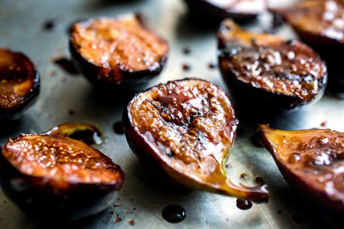 Grilled Figs with Pomegranate Molasses - http://www.nytimes.com/2014/07/11/health/grilled-figs-with-pomegranate-molasses.html?mabReward=RI%3A15&action=click&pgtype=Homepage&region=CColumn&module=Recommendation&src=rechp&WT.nav=RecEngine&_r=0