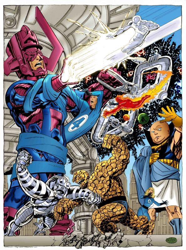 fantastic four  Comic Art