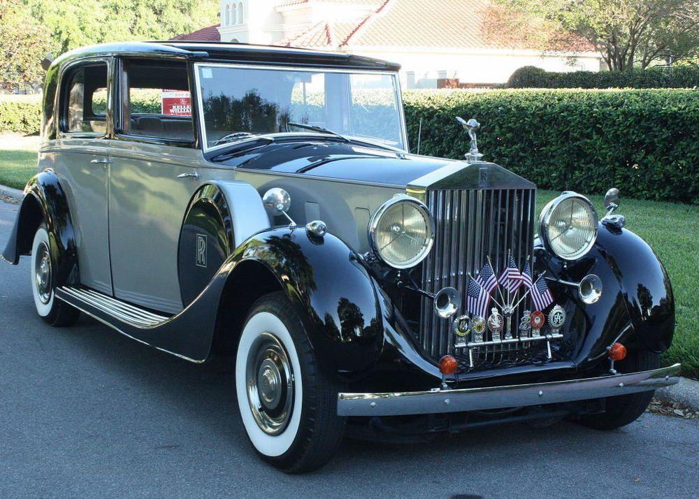 1938 Rolls Royce Phantom Iii Restomod V10 A C 3k Miles