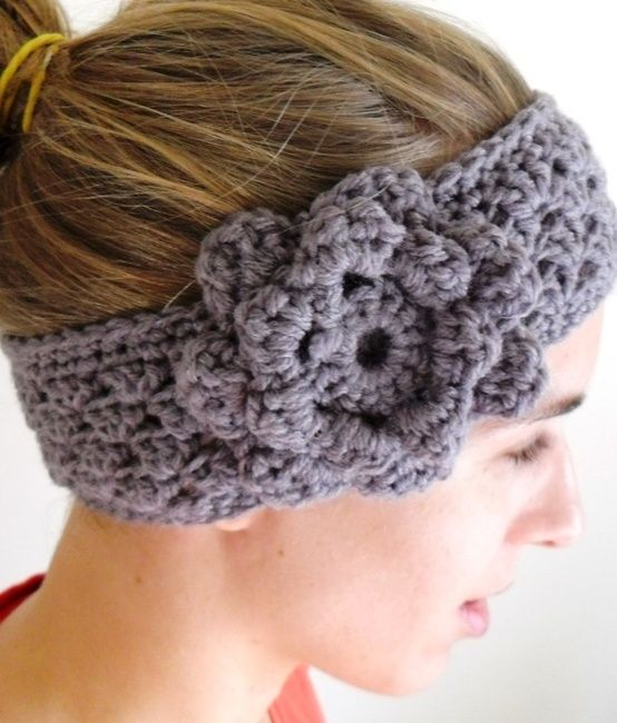 crochet ear warmer pattern with button - Google Search. | A. CROCHET ...