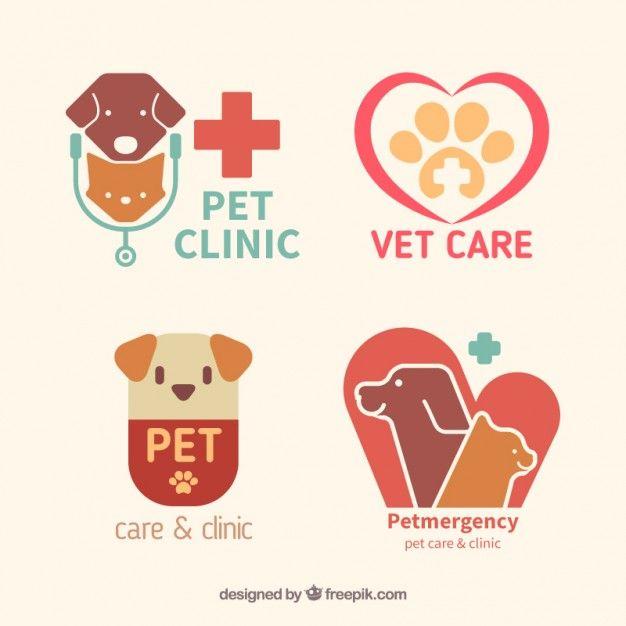 Download Flat Pet Clinic Logos For Free Pet Clinic Pet Care Logo Clinic Logo