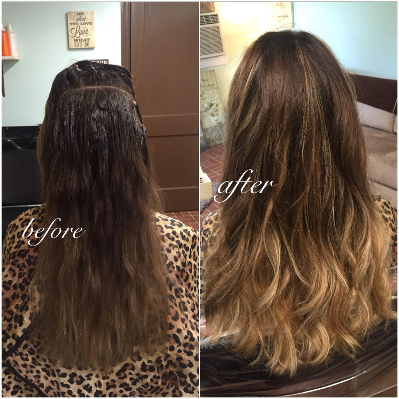 balayage ombre hairbypris salon126 salon upgrade pinterest