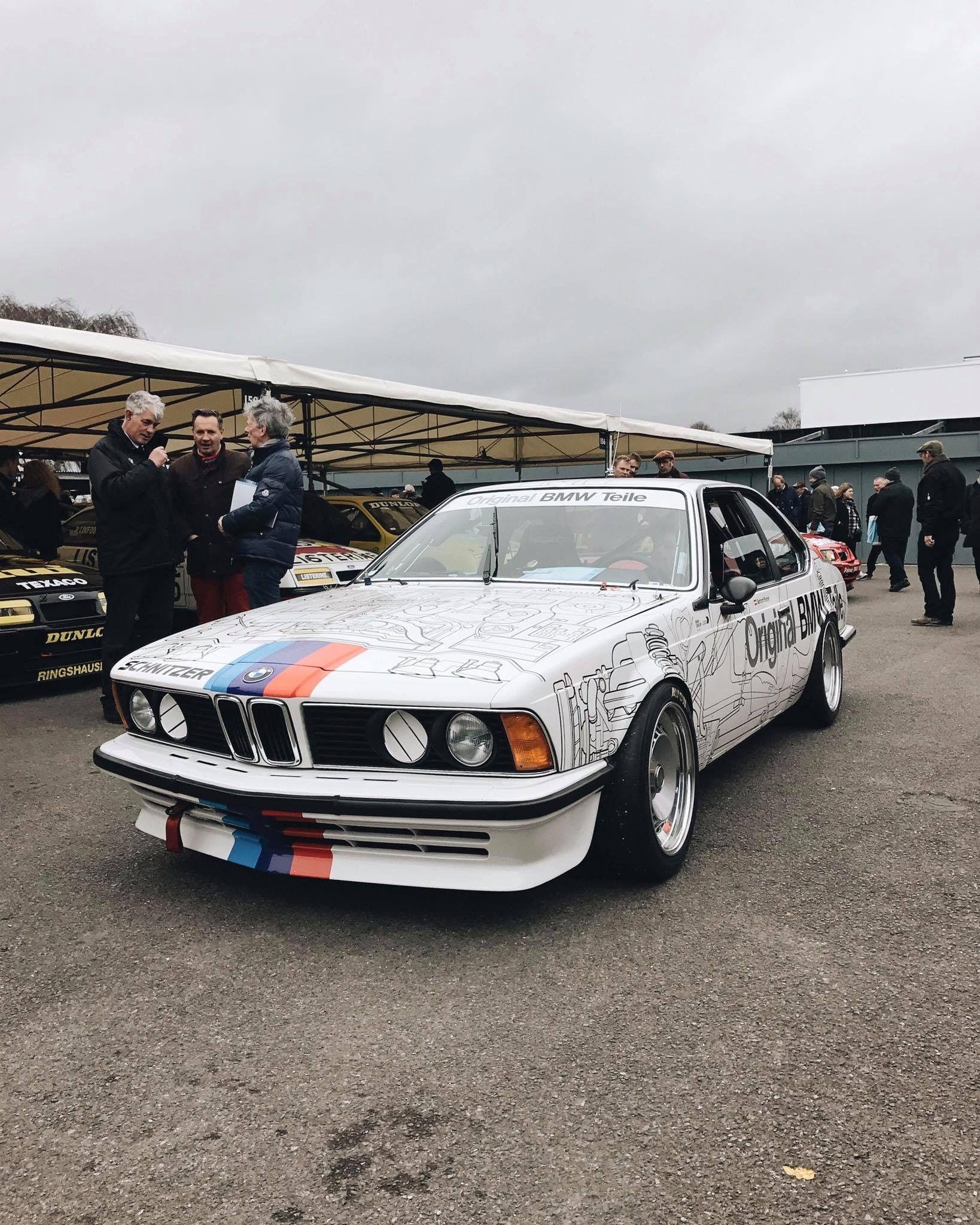 M6 track car BMW E24 6 Series Bmw e24, Bmw alpina, Bmw