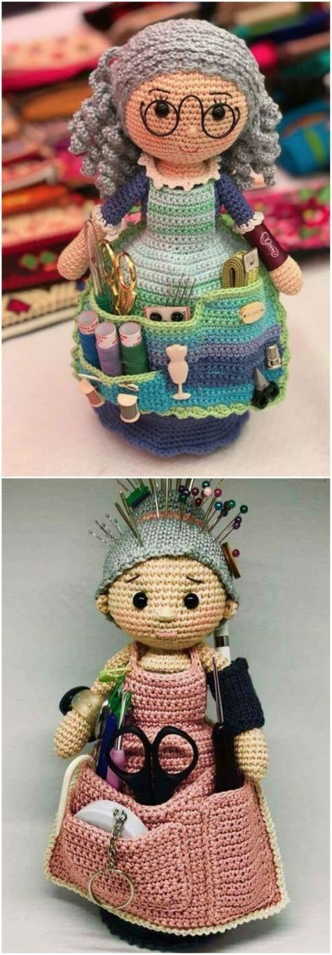 Crafter Granny Crochet Doll Free Pattern