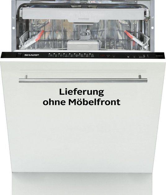 integrierbarer Geschirrspüler, QWHD44IDE, 9 l, 15