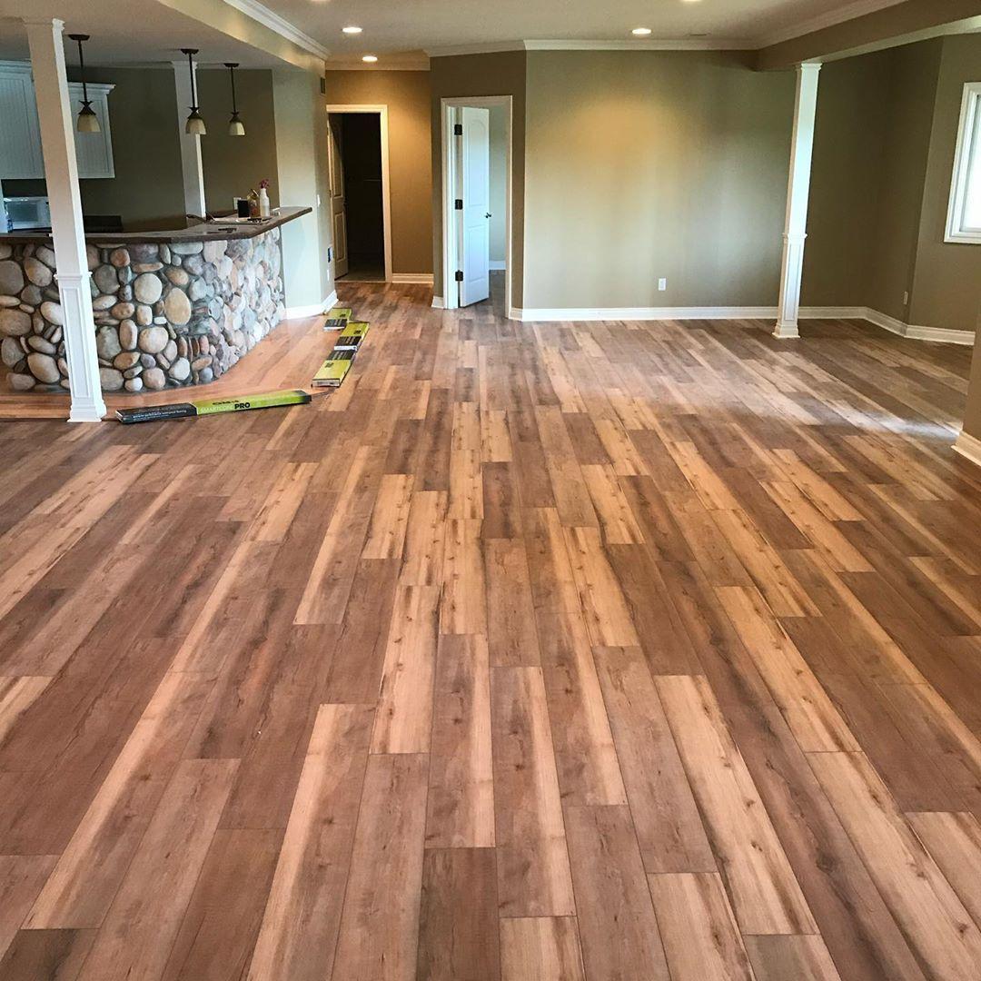 Prep Is Key Product Sugar Valley Maple Luxury Locking Vinyl Plank Flooring Loweshomeimprovement Coretecfloors Home Improvement Hardwood Floors Flooring