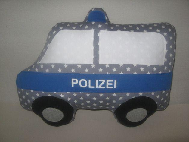 Kissen Polizei Kissen Kuschelfreund ein Designerstück