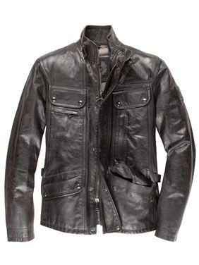 f0766d8368f0 Belstaff Maple Biker-Jacke