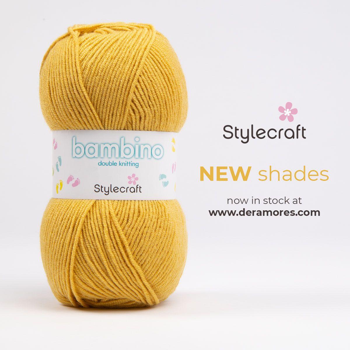 Stylecraft Bambino DK | Stylecraft Yarn - Deramores