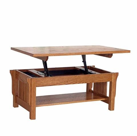 Amish Made Solid Wood Lift Top Coffee Table: The Perfect Small Space  Solution!