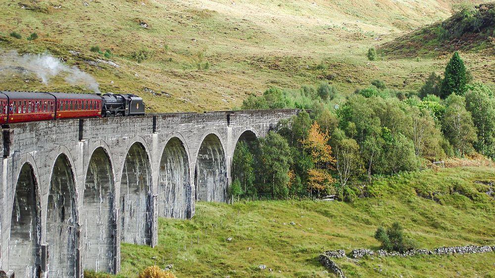 Jacobite Steam Train Der Harry Potter Zug Schottland Schottland Hogwarts Harry Potter
