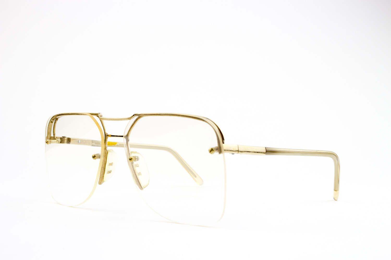 ea9a00835d4 Vintage Aviator Eyeglasses