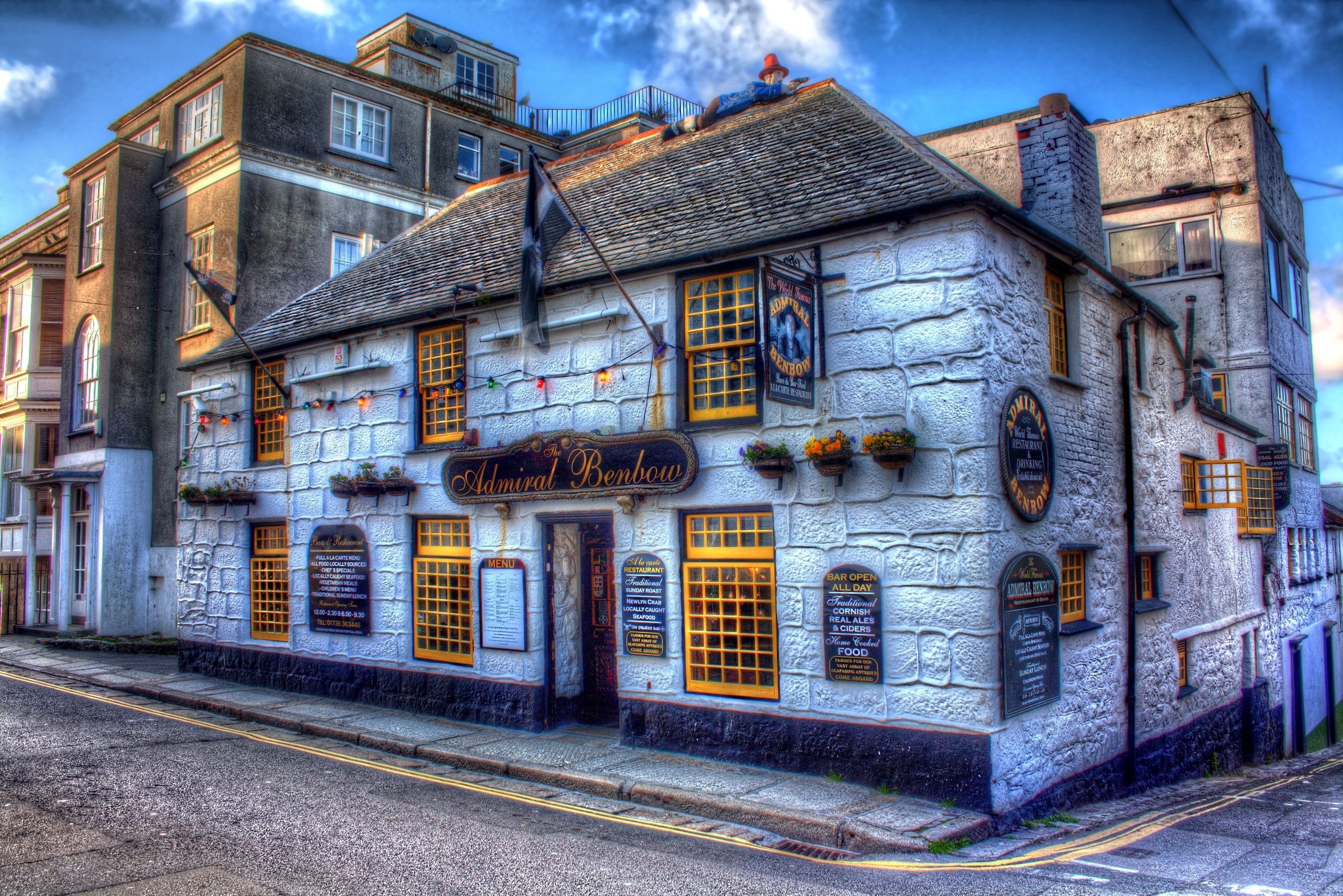Britain Tavern Admiral Benbow England Hdr HD Wallpaper