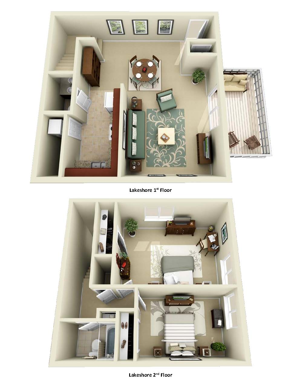Luxury 1, 2, and 3 Bedroom Apartments in Indianapolis, IN