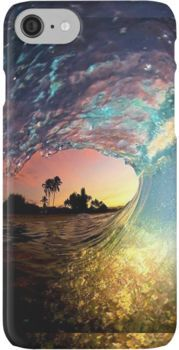 'Wave' iPhone Case by Claire1412