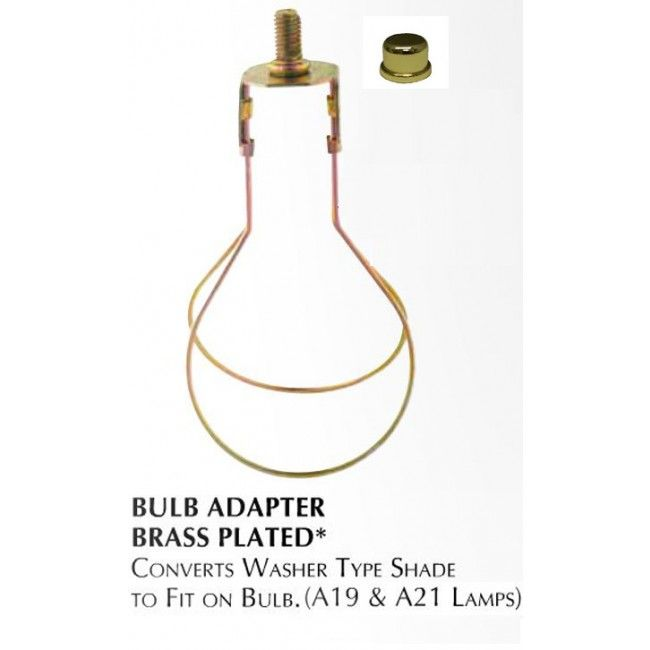 Clip On Bulb Lamp Shade Converter Adapter 3401