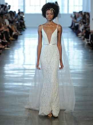 Berta Fall/Winter 2018: Super-Sheer Wedding Dresses With Daring ...