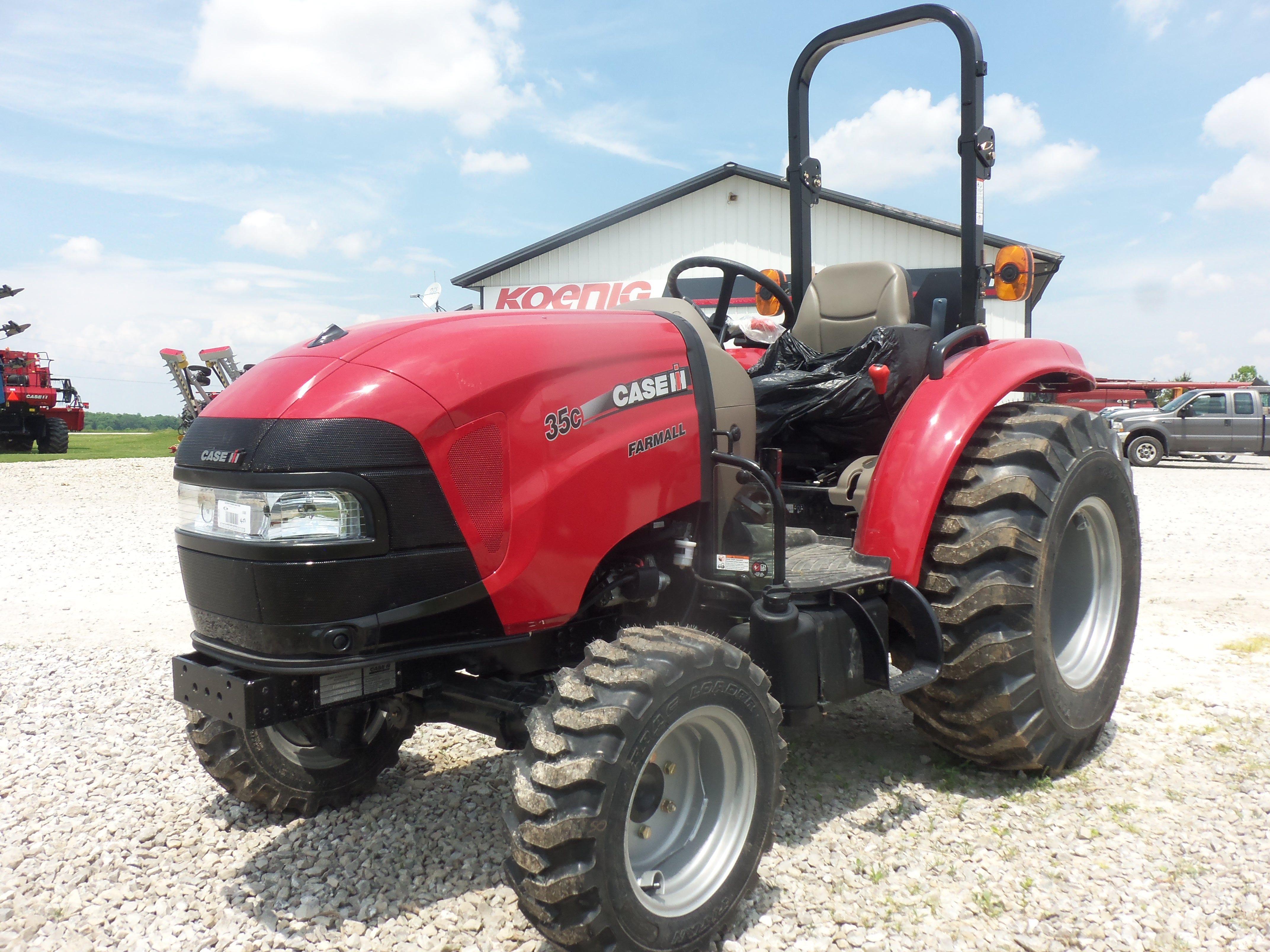 New 2014  CaseIH Farmall  35C compact diesel tractor