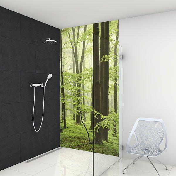 Glassdouche Bringt LED Licht Und Farben In Die Glasdusche Bzw. Duschkabine  Und Damit Ins Bad Bzw. Badezimmer: Z.B. Mit Der Lichtwand HELENE.