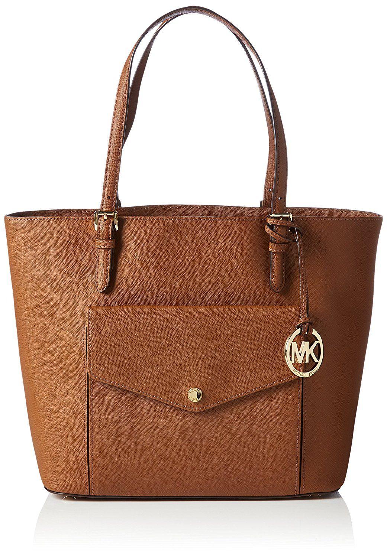 ff7b7e1e8a5c Michael Kors Jet Set Item Large Pocket MF Tote: Handbags: Amazon.com ...