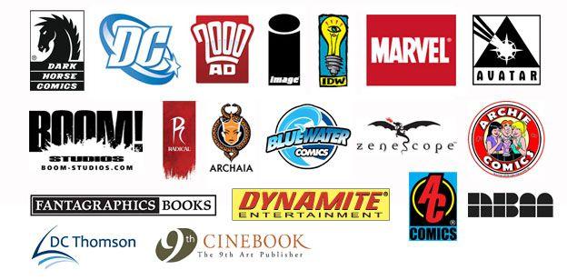 Comic Book Publishers   Comic room, Comic boom, Book publishing