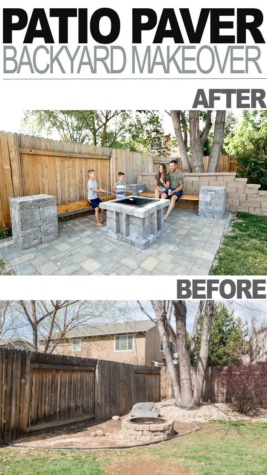 Photo of DIY Patio Paver Backyard Makeover