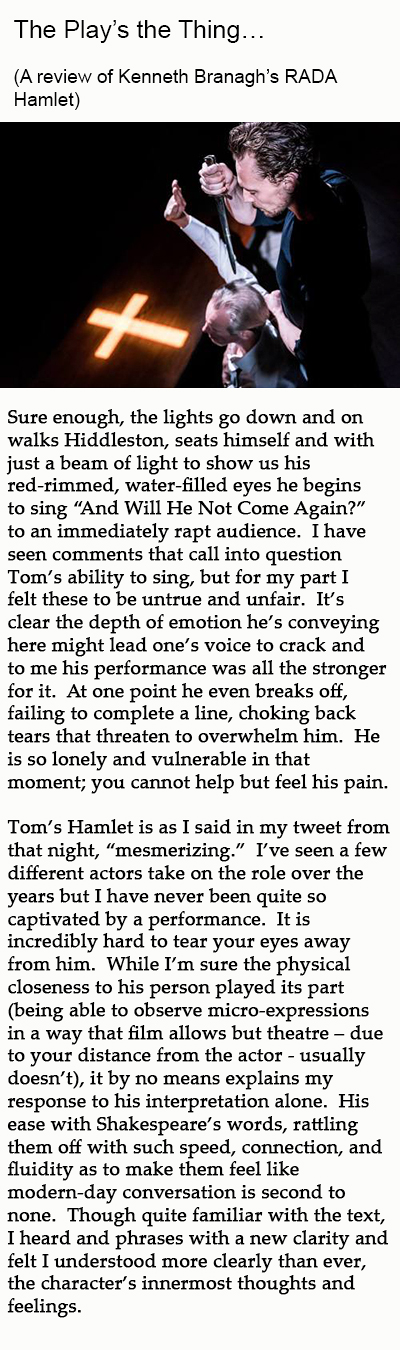 hamlet play review