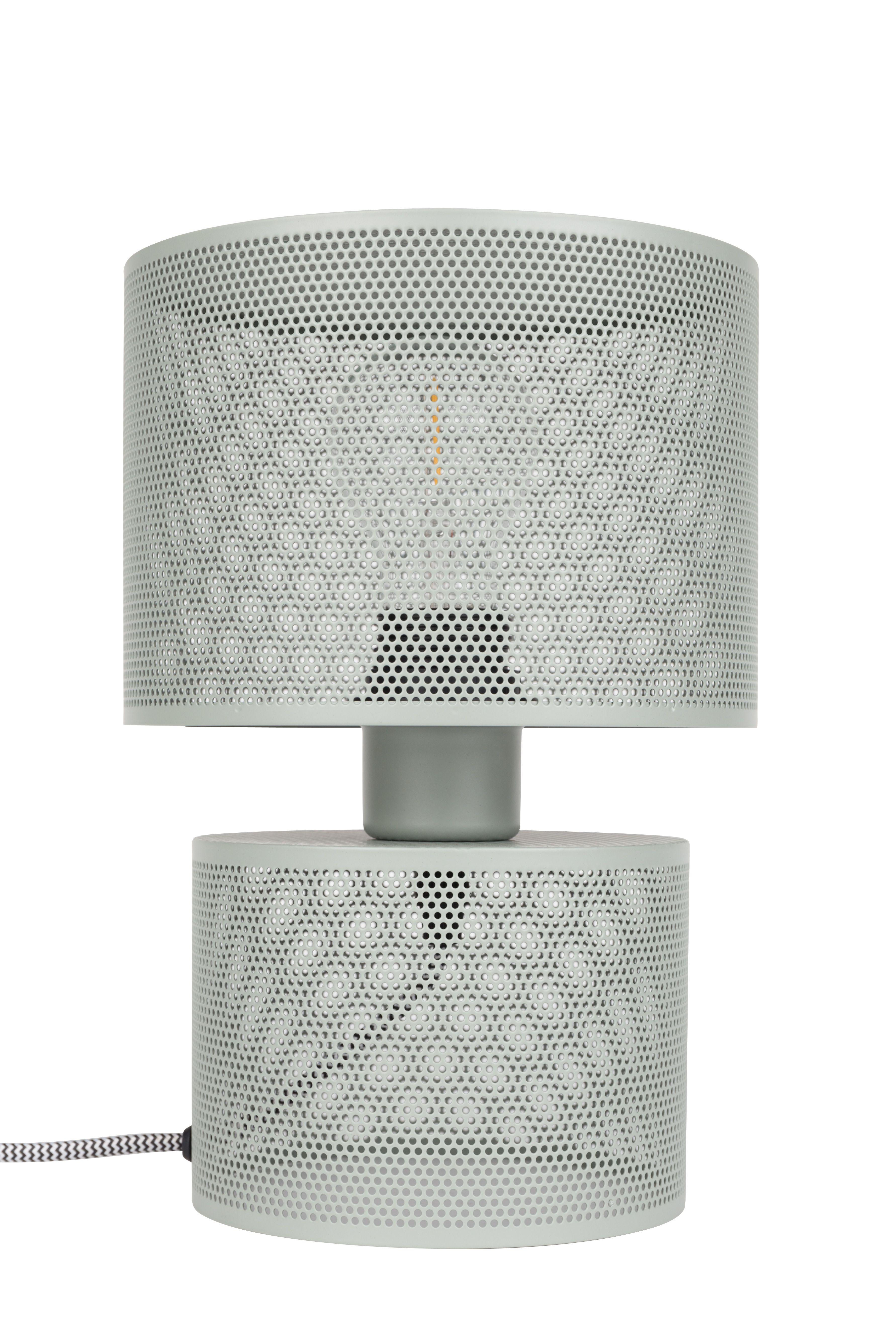 Grid Table Lamp Grey
