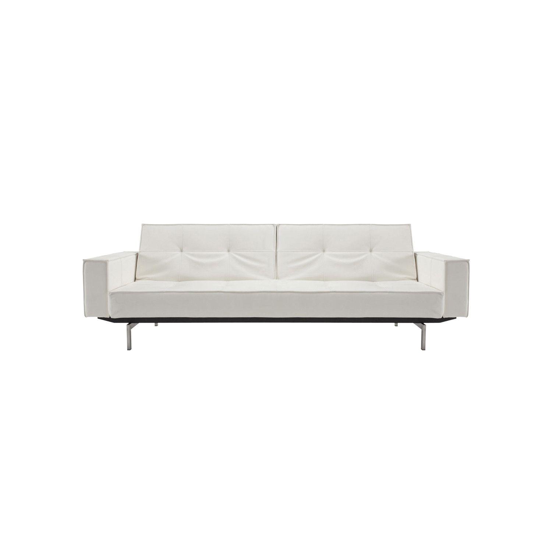 Descripción Sofá cama con armazón de acero, asientos y respaldos de ...