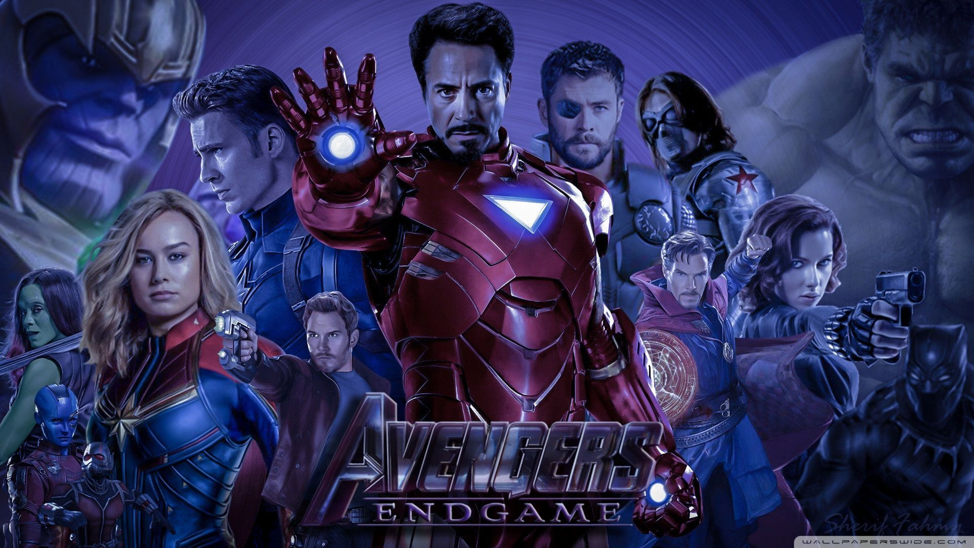 Awesome Avengers Endgame 4k Hd Desktop Wallpaper For 4k Ultra Hd Tv Desktop Wallpaper 4k Ultra Hd Tvs Hd Desktop