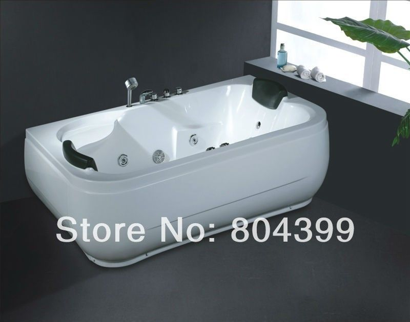 New Arrive Double Whirlpool Large Tub Bubble Bath And Whirlpool