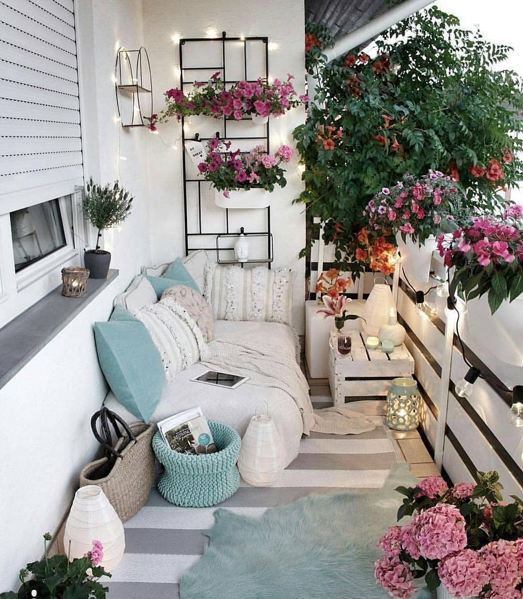 40 Cozy Balcony Ideas And Decor Inspiration 2019 Page 21 Of 41 My Blog Apartment Balcony Decorating Small Balcony Decor Balcony Decor