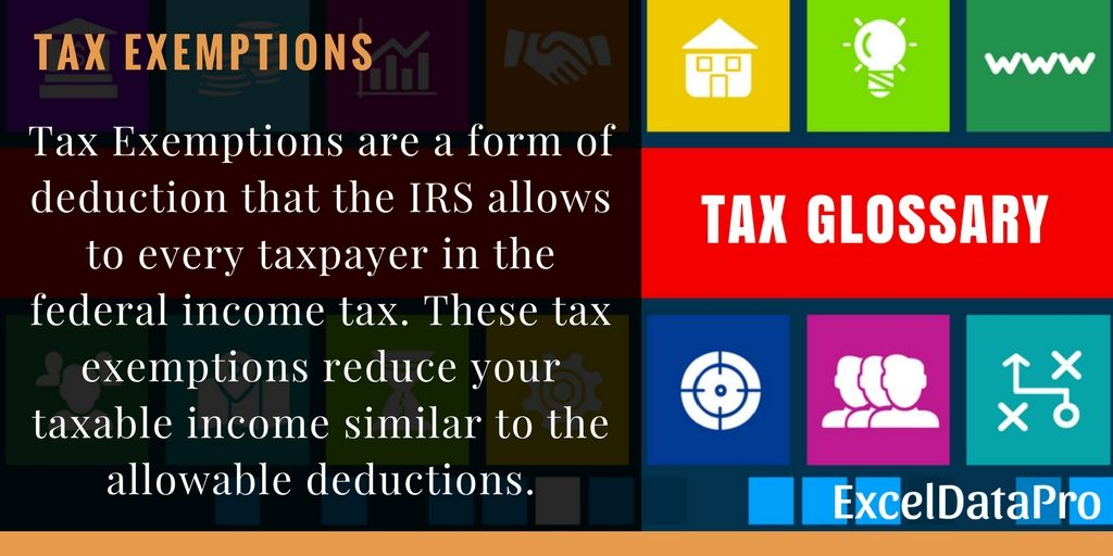 What Are Tax Exemptions Tax exemption