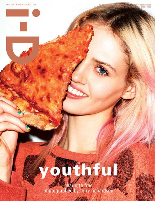 """Youthful"" Charlotte Free photographed by Terry Richardson"