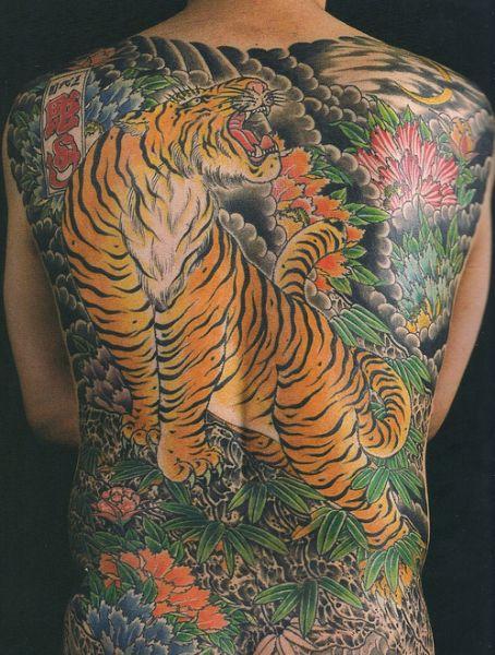 7a2b7d2b729e0 Japanese Irezumi Tiger | Traditional Japanese tattoos | Irezumi ...