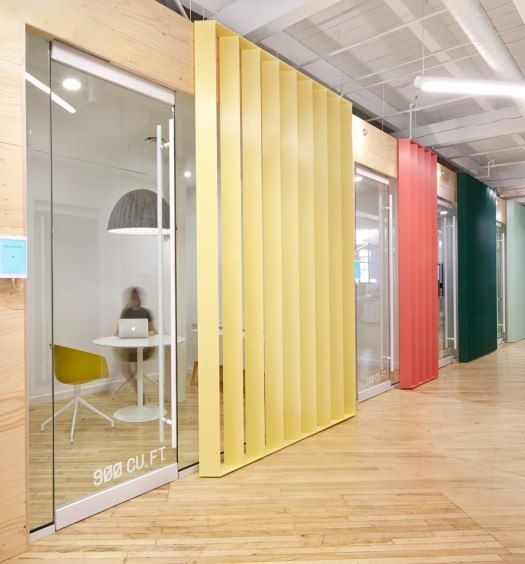 Interior Design Office Montreal: Inside Shopify's New Amazing Montreal Office