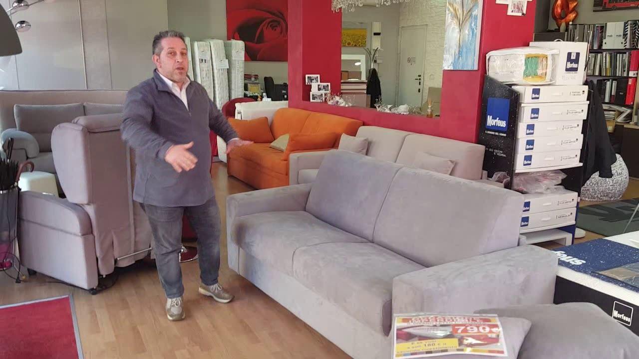 Offerta divano letto matrimoniale materasso H 17 negozio a Torino ...