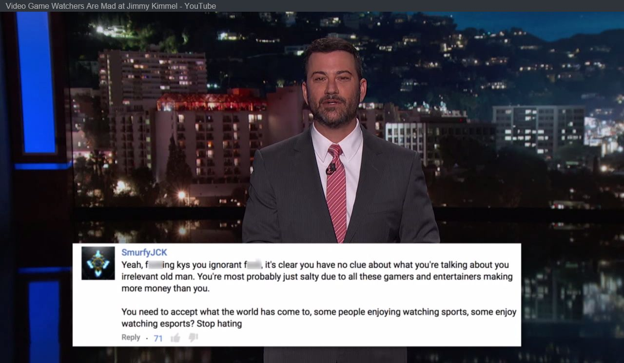 Jimmy Kimmel Responds To All The Angry Gamers - http://wp.me/p67gP6-31q