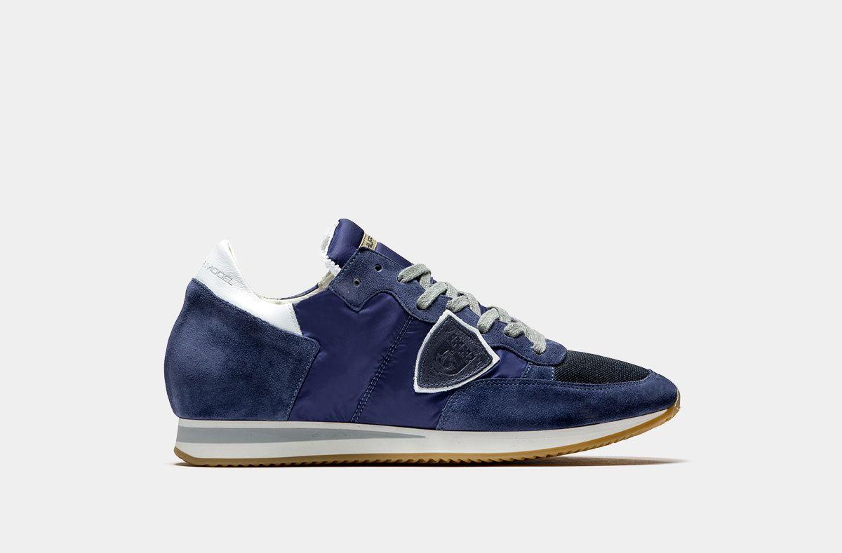 6162d020bc PHILIPPE MODEL: SNEAKER TROPEZ BASSA WORLD BLU | Sneakers in 2019 ...