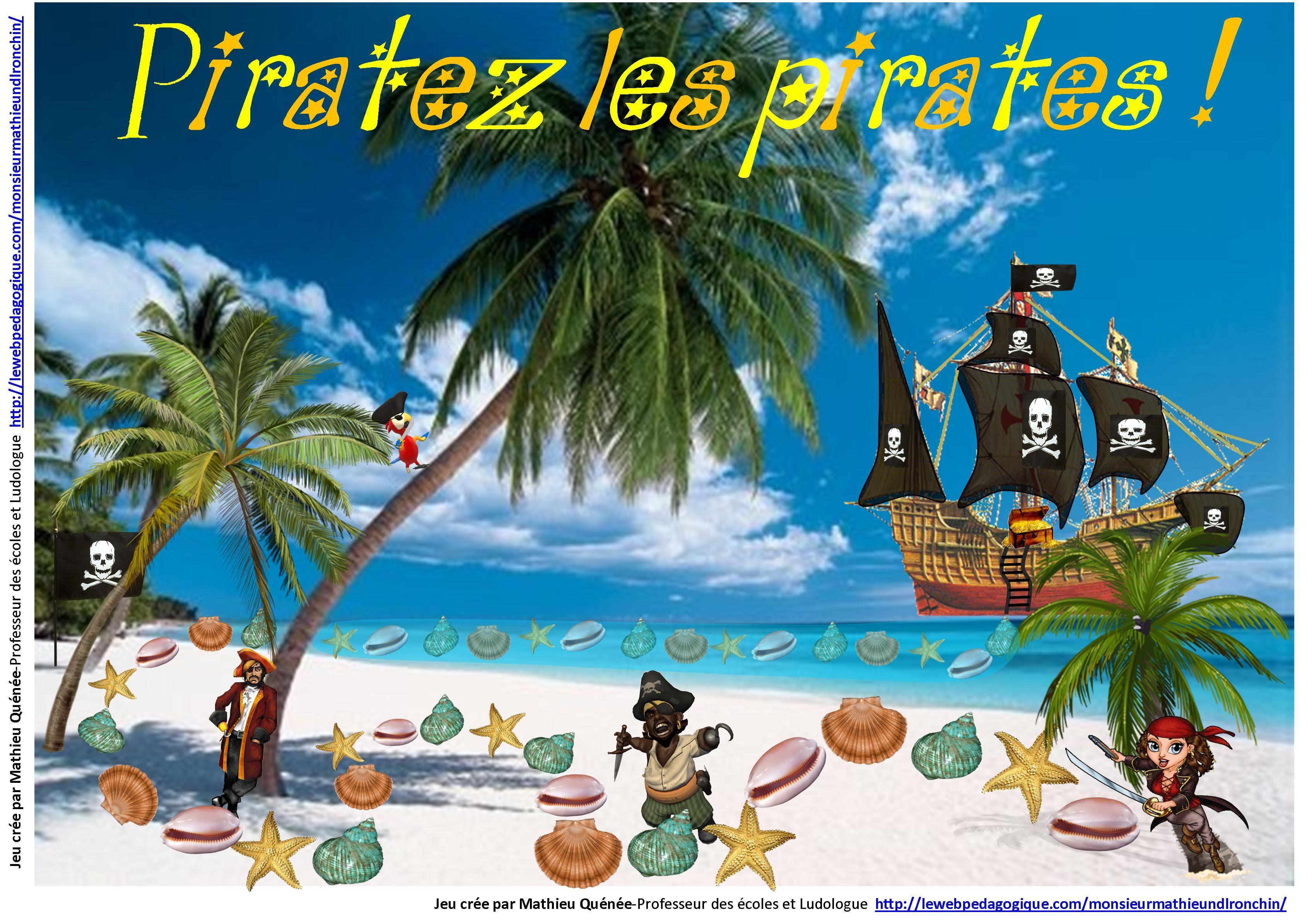 19 Piratez les pirates | Jeux pédagogiques | Pinterest