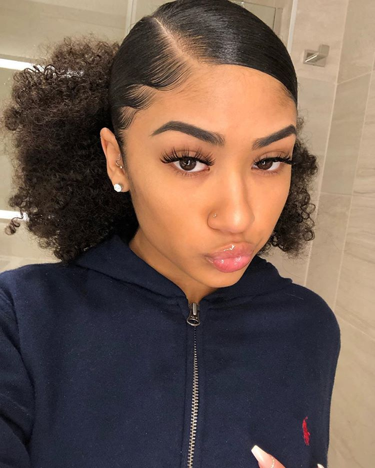 10 Best Packing Gel Styles We Found In The Internet In 2020 Natural Hair Styles Long Hair Styles Curly Hair Styles Naturally