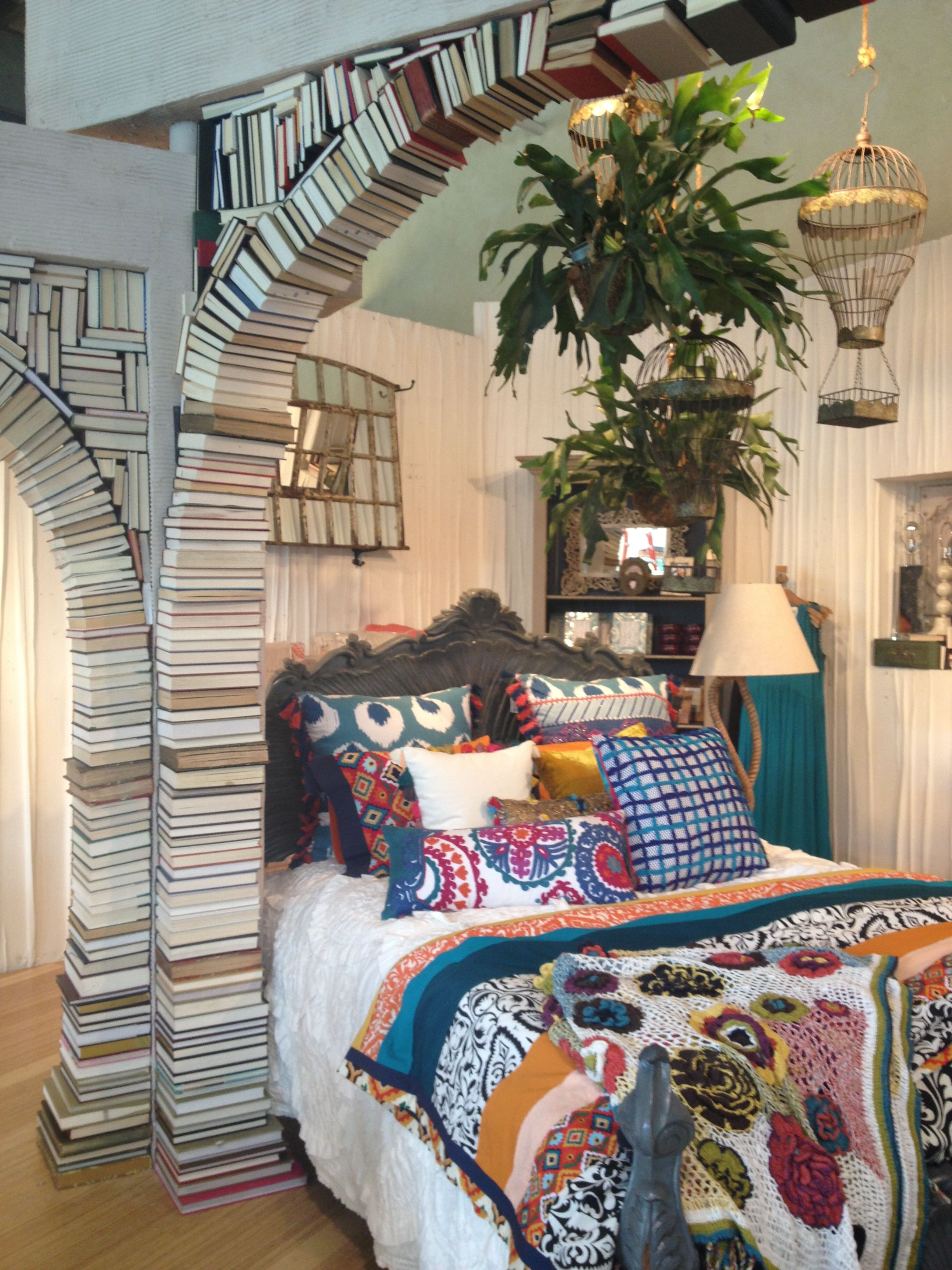 Anthropologie Display. Book Arch.