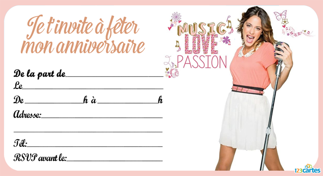 Extrêmement carte anniversaire chica vampiro | cartes invitation anniversaire  IN68